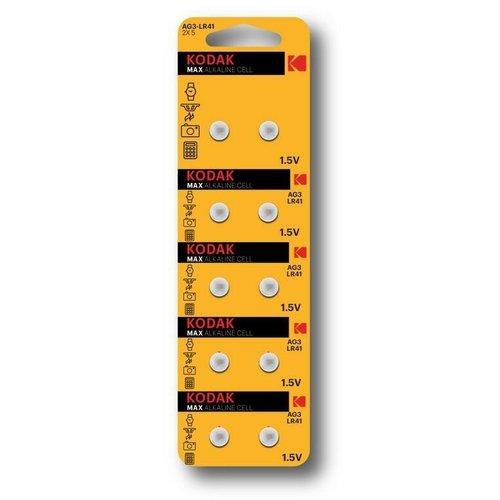 Kodak LR41 Knoopcel 1.5V 10-pack