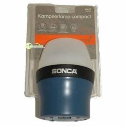 Kampeerlamp compact werkt op 4xD batterij