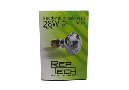 RepTech Neodymium Halogeen Lamp 28W