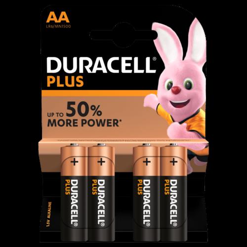 Duracell Plus Alkaline 100%