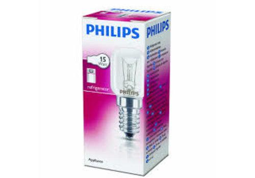 Philips KOELKASTLAMPJE 15W  E14 Helder