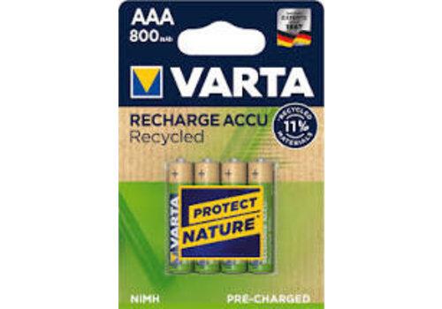 Varta AAA 800 mAh 4-pack Recycled