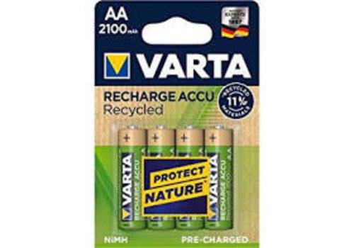 Varta AA 2100 mAh 4-pack Recycled