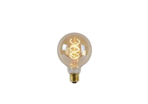 Lucide LED Globe 9,5 cm - Filament lamp Dimbaar Amber