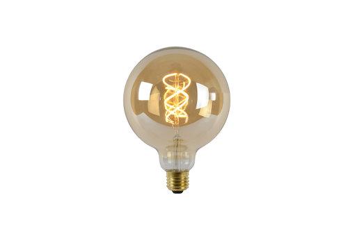 Lucide LED Globe 12,5 cm - Filament lamp Dimbaar Amber