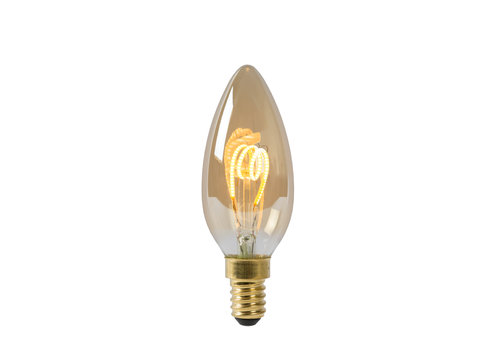 Lucide LED Kaars - Filament lamp Dimbaar Amber