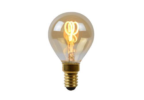 Lucide LED Kogel E14 - Filament lamp Dimbaar Amber