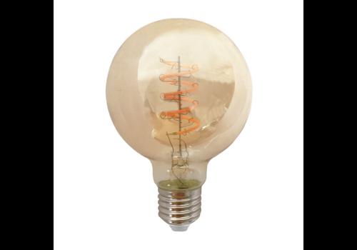 Blinq LED Globe Ø 125mm - 4W - Filament lamp Dimbaar Amber