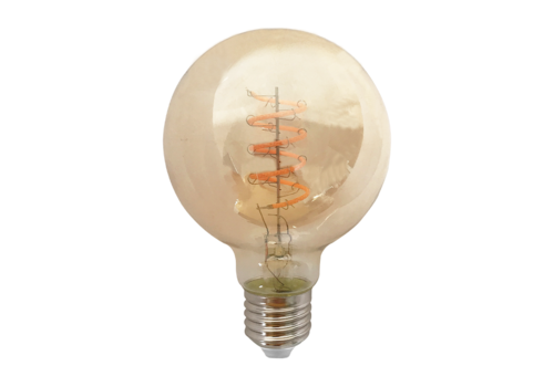 Blinq88 LED Globe Ø 95mm - 4W - Filament lamp Dimbaar Amber