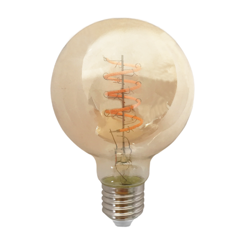 Blinq LED Globe Ø 95mm - 4W - Filament lamp Dimbaar Amber
