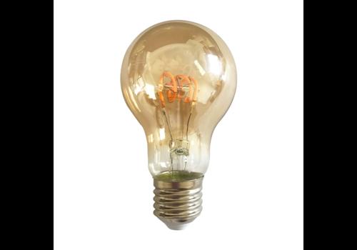 Blinq LED Normaal 4W - Filament lamp Dimbaar Amber