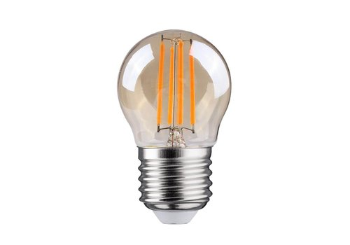 Blinq LED Kogel E27- 4W - Filament Lamp Amber