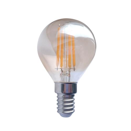 Blinq LED Kogel E14 - 1.6W - Filament Lamp Amber