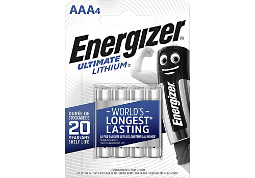 Energizer Lithium AAA /L92 1.5v blister 4