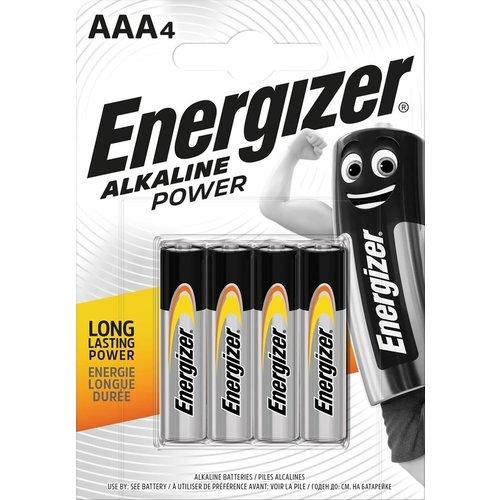 Energizer Alkaline Power AAA blister 4
