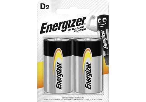 Energizer Alkaline Power D blister 2