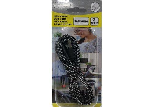Benson USB KABEL 2 MTR voor MICRO-USB-B