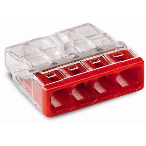 WAGO 4V lasklem mini 4x0.5-2.5