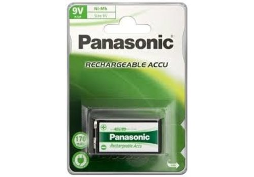 Panasonic Rechargeable NimH 9V/HR22