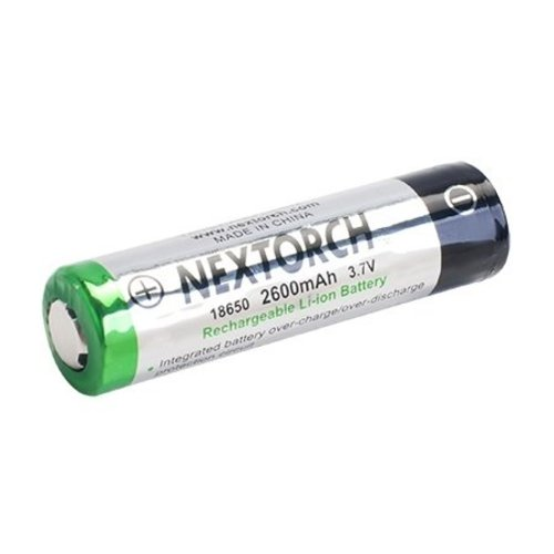 Nextorch 18650 3,7V 2200mAh Li-Ion batterij