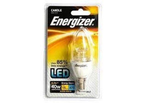 Energizer led kaars dimbaar 6.2W (40w) E14