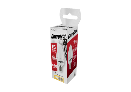 Energizer Kaars 5,2W(40W)/E14 470LM S8851