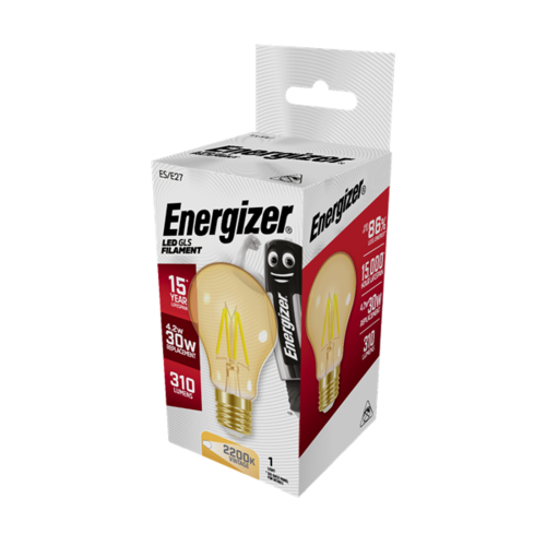 Energizer GOLD Normaal E27 4,2W(=30W) 310LM