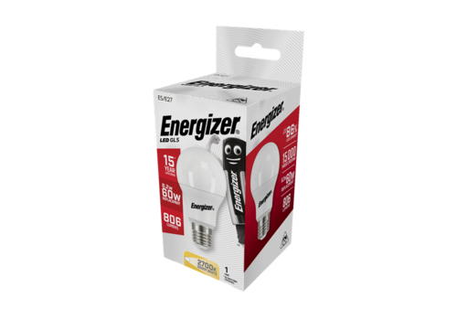Energizer Normaal 8,2W(60W)/E27 806LM S8863
