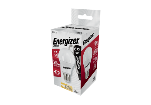 Energizer Normaal 5,5W(40W)/E27 470LM S8859