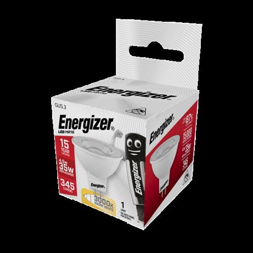 Energizer Spot MR16 4,8W(=35W) 345LM