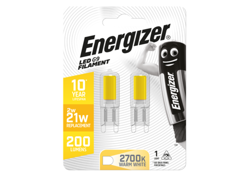 Energizer G9 2W(20W) 210LM Blister 2 S13013