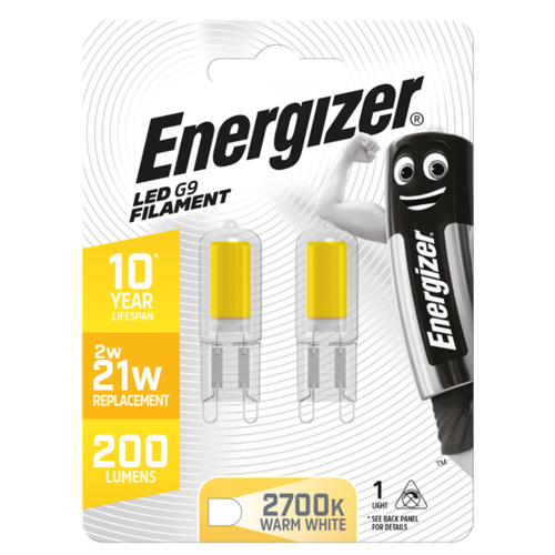 Energizer Capsule G9 2W(=20W) 210LM Blister 2