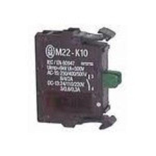 Eaton M22-K10 schakel/contactelement 1x maak frontbevestig.