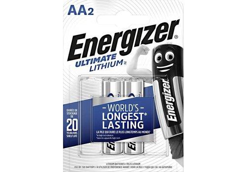 Energizer Lithium AA /L91 1.5v blister 2