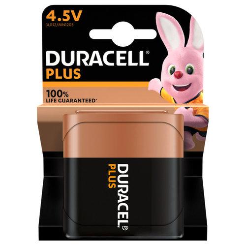 Duracell Plus Alkaline 100% 4,5V 1 pack (MN1203/3LR12)