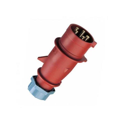 Mennekes CEE stekker 16A 5-polig rood