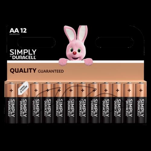 Duracell Simply/Basic AA/LR06 blister 12