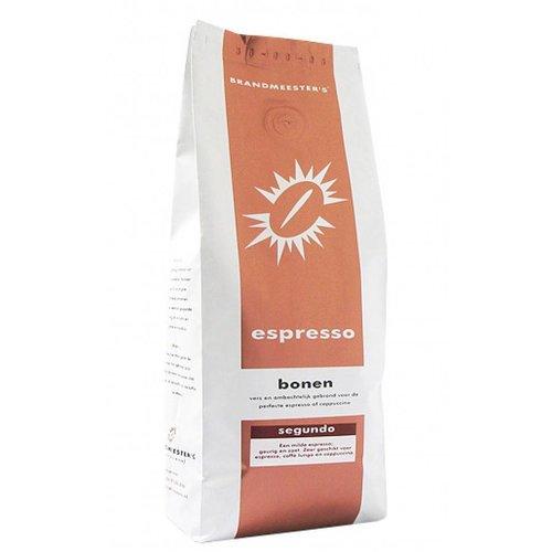 Brandmeester's Segundo - Koffiebonen 500 gram