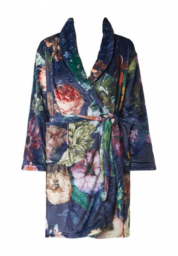 Fleur badjas met bloemdessin