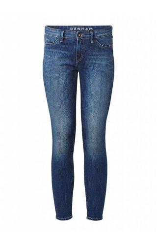 Falke Mid rise skinny jeans met faded look