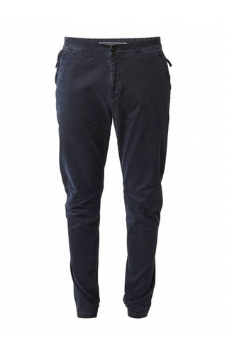 Stone Island Regular waist tapered twill chino met elastische zoom