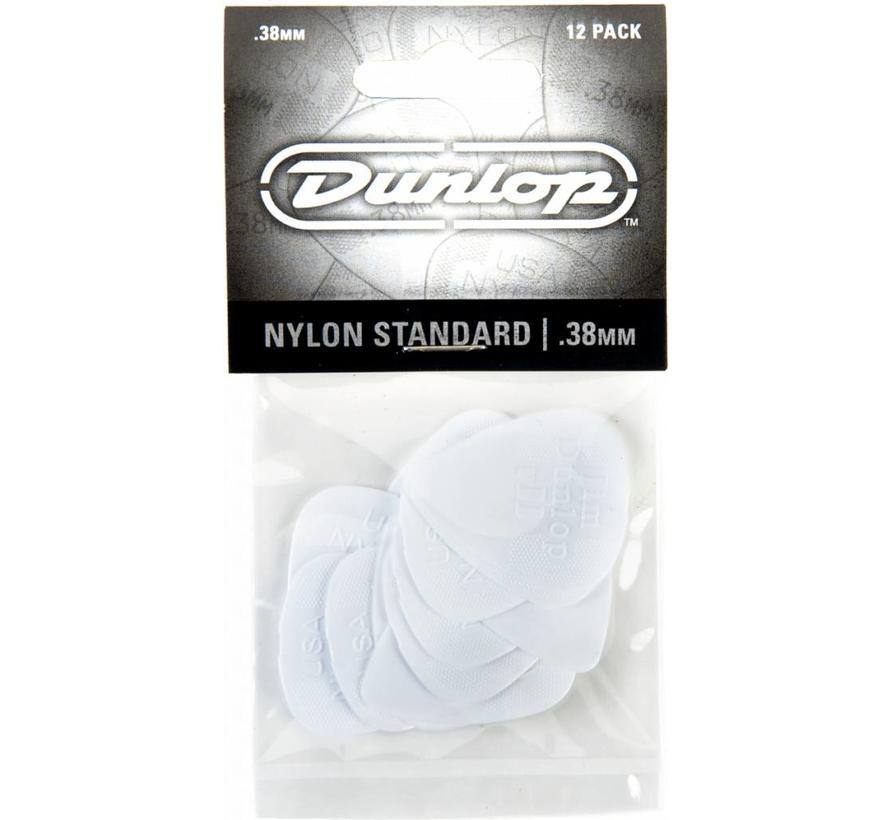 Dunlop 12-pack standaard plectrums .38mm