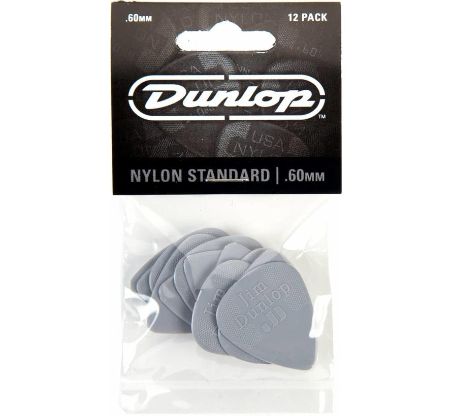 Dunlop 12-pack standaard plectrums .60mm