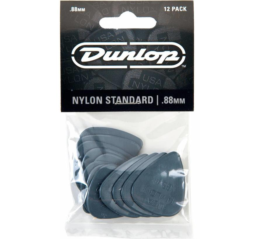 Dunlop 12-pack standaard plectrums .88mm
