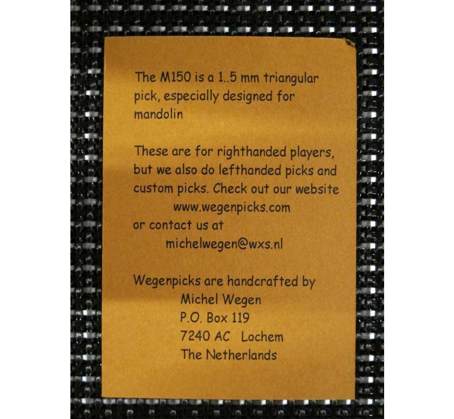 WEGEN PICKS 1.5mm M150 WIT