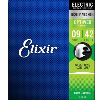 Elixir Elixir 19002 Electric Optiweb Super Light 9-42 snarenset
