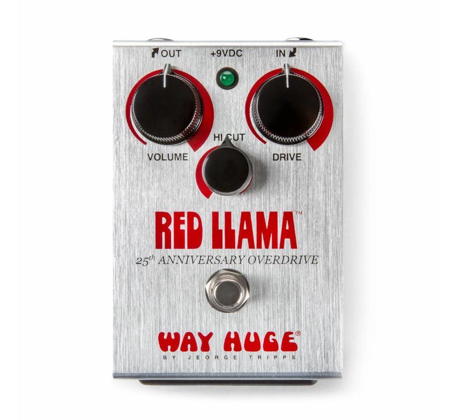 Way Huge Red LLama 25th Anniversary Effectpedaal