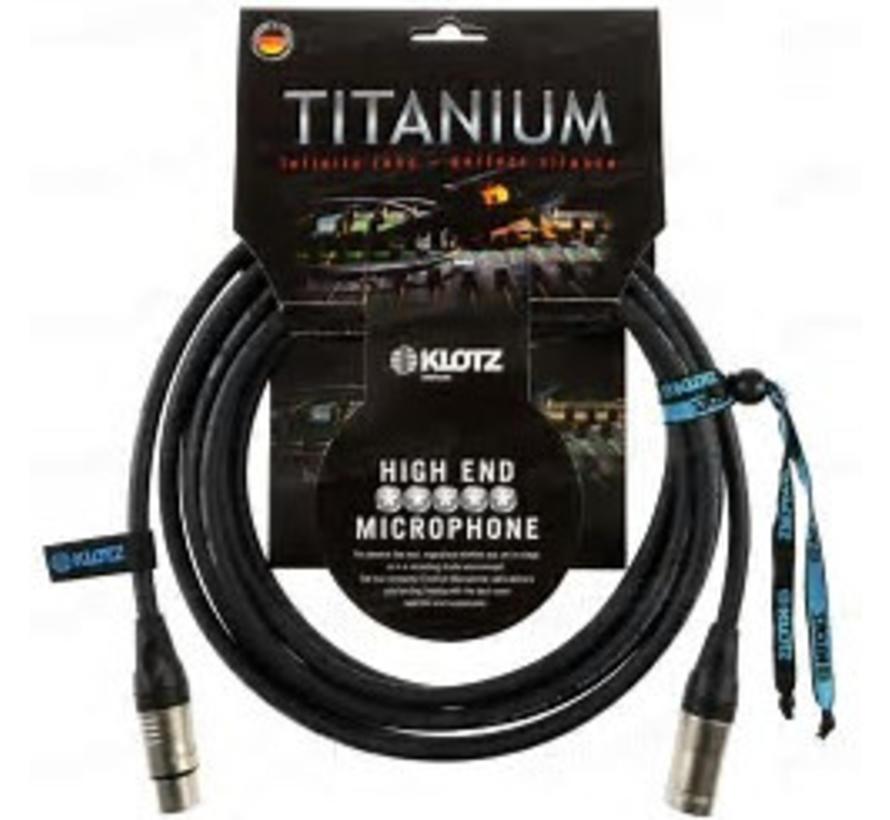 Klotz Titanium High End Microfoonkabel 5 meter