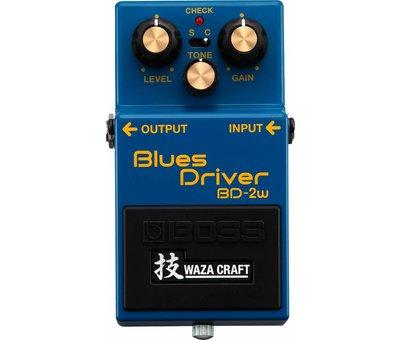 Boss Boss BD-2W Blues Driver Waza Craft