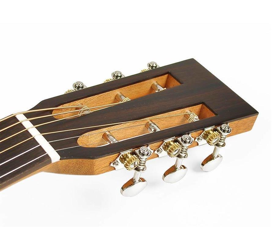 Richwood P-50-E Parlour model gitaar | Semi akoestisch